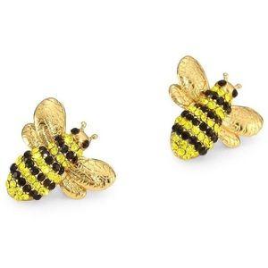 kate spade Crystal Bee Earrings